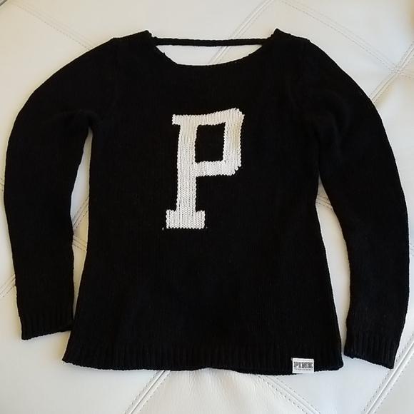 Victoria Secret Black knitted Top